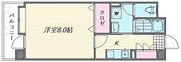 フリュウゲル21[713号室]の間取り