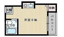 K・菅原ハイツ[1階]の間取り