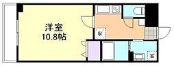 マリベール新倉敷[1階]の間取り