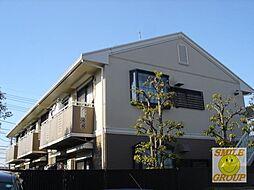 千葉県市川市下貝塚1丁目の賃貸アパートの外観