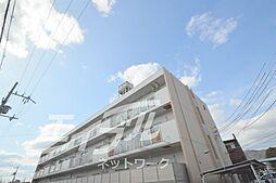 大阪府箕面市百楽荘4丁目の賃貸マンションの外観