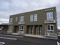新潟県見附市双葉町の賃貸アパートの外観