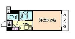 セレッソコート梅田東[6階]の間取り