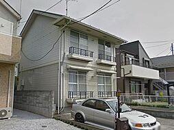 東京都日野市東豊田1の賃貸アパートの外観