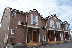 新潟県新潟市北区木崎の賃貸アパートの外観
