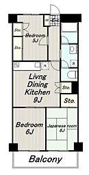 サンシャトーレマンション[305号室]の間取り