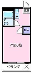 アネモスコーポ[2階]の間取り