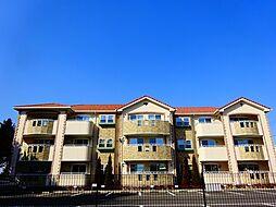 茨城県下妻市半谷の賃貸アパートの外観