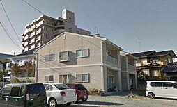 福島県郡山市菜根1丁目の賃貸アパートの外観