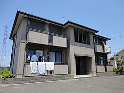 滋賀県彦根市大堀町の賃貸アパートの外観