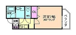 セイワパレス福島駅前[3階]の間取り