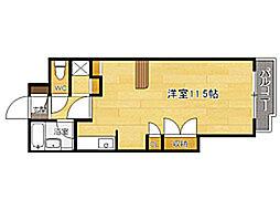 福岡県福岡市東区松島1丁目の賃貸マンションの間取り