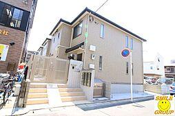 千葉県市川市幸1丁目の賃貸アパートの外観