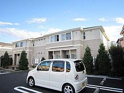JR青梅線 福生駅 バス13分 下草花下車 徒歩5分の賃貸アパート