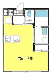 埼玉県さいたま市見沼区大和田町1丁目の賃貸アパートの間取り