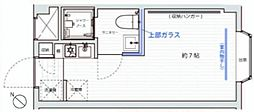 ARK HOUSE F[1階]の間取り