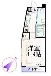 ピアコートTM下井草[2階]の間取り