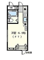 神奈川県川崎市宮前区馬絹6丁目の賃貸マンションの間取り