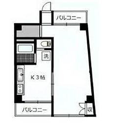 第2エントピアコート麻布[2階]の間取り