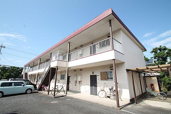 東京都西多摩郡瑞穂町南平2丁目の賃貸マンションの外観