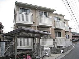 千葉県市川市妙典4丁目の賃貸アパートの外観