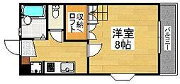 ツインハウス別府[1階]の間取り