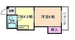 シャトーセイコー[3階]の間取り