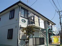 千葉県市川市稲越町の賃貸アパートの外観