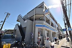 神奈川県厚木市寿町3丁目の賃貸マンションの外観