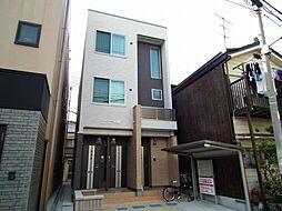 大阪府大阪市西淀川区野里1丁目の賃貸アパートの外観