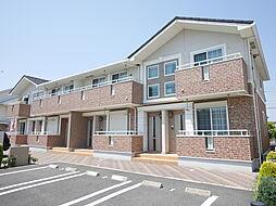 神奈川県厚木市下依知2の賃貸アパートの外観
