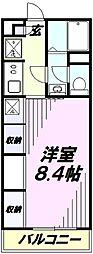 リブリ・カーサ所沢[1階]の間取り