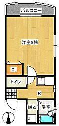 イスタナ藤崎[703号室]の間取り
