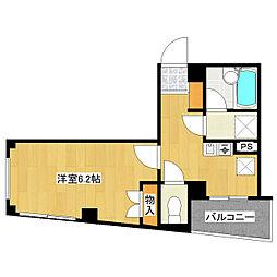 クレセントマンション[2階]の間取り