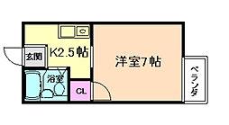 エクセル・セジュール[2階]の間取り