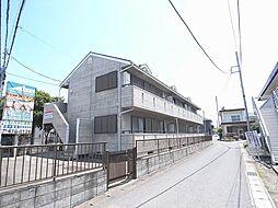 千葉県千葉市花見川区長作町の賃貸アパートの外観