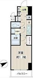 神奈川県横浜市南区中島町4丁目の賃貸マンションの間取り