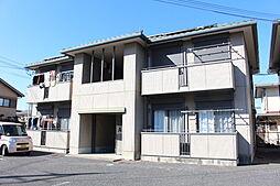 滋賀県野洲市北野1丁目の賃貸アパートの外観