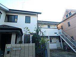 東京都多摩市一ノ宮4の賃貸アパートの外観