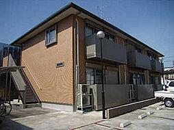 サイクレアA棟[1階]の外観