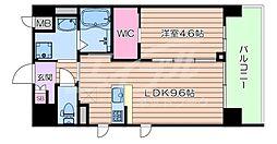 Osaka Metro御堂筋線 江坂駅 徒歩2分の賃貸マンション 3階1LDKの間取り