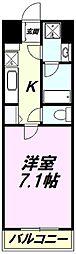トレセリア横山[10階]の間取り