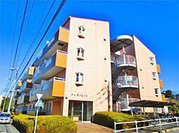 東京都多摩市鶴牧6丁目の賃貸マンションの外観