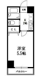 ヨネビル246[5階]の間取り