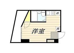 TKマンション[406号室]の間取り