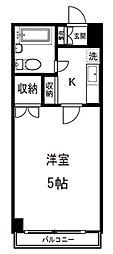 ヨネビル246[3階]の間取り