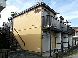 東京都八王子市狭間町の賃貸アパートの外観