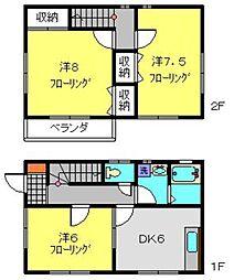 [一戸建] 神奈川県横浜市保土ケ谷区上星川1丁目 の賃貸【/】の間取り