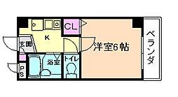 K'S COURT[4階]の間取り