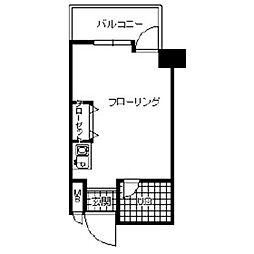 プリメゾン博多[702号室]の間取り